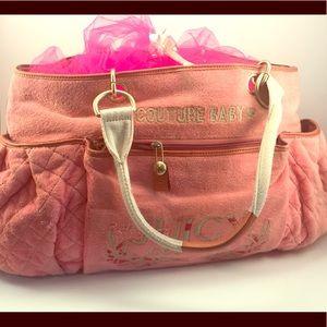 b2f4eb0aa8 Pink Juicy Couture Baby Bag on Poshmark